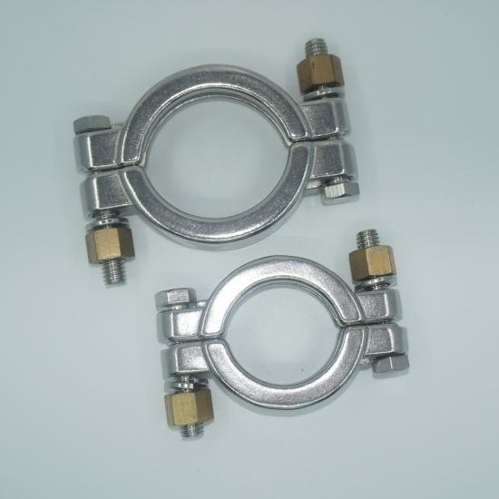 Stainless Steel Heavy Duty Tc High Pressure Pipe Clamp