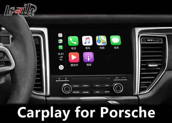 Plug & Play Ios Carplaye Interface Box for Porsche PCM3.1 with Waze Siri Command Mirrorlink Mutually Control pictures & photos