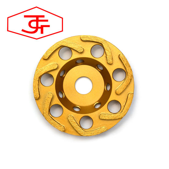 Diamond Turbo Type Grinding Cup Wheel for Stone