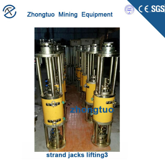 Zhongtuo Post Tension Equipment PC Strands Stressing Jack for Sale