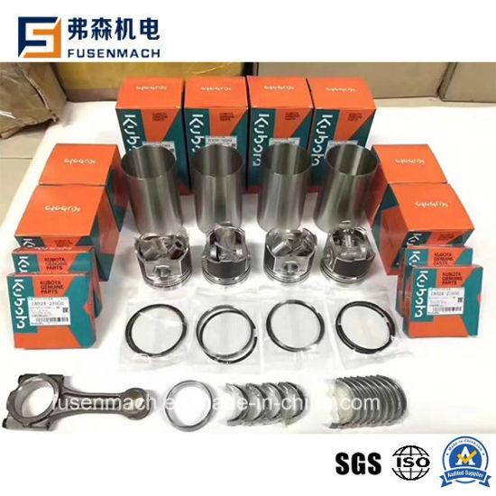 China Kubota Engine Parts Overhaul Kit, Cylinder, Pistons