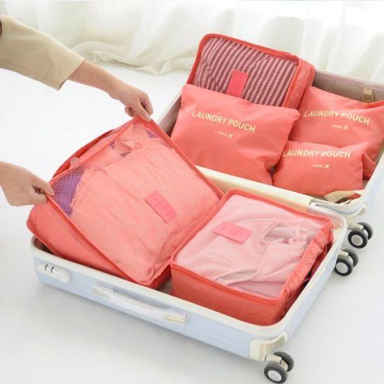 Different Color Oxford Fabric Laundry Pouch Quilt Clothes Blankets Shoe Travel Suit Dress Garment Cosmetic Storage Zipper Bag
