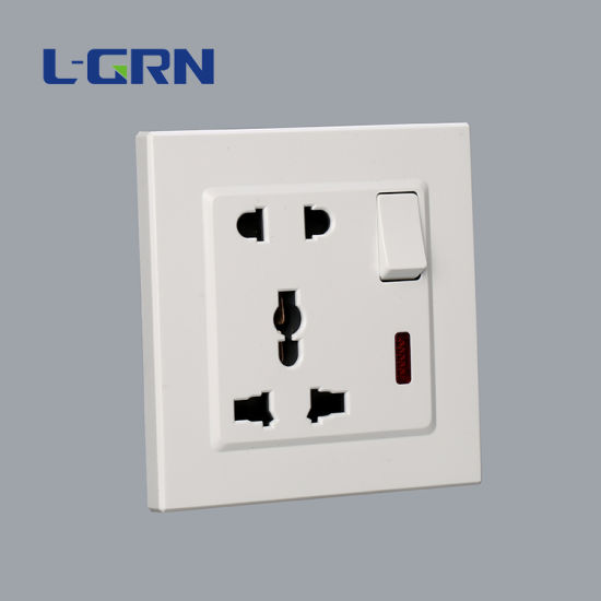 Wall Outlet 13A Multifunctional Wall Socket OEM