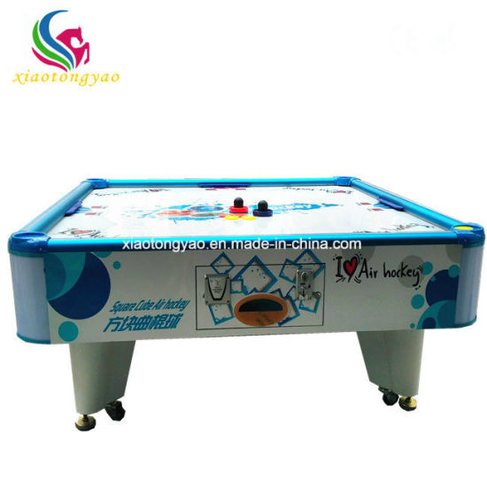Fabulous 4 Players Big Coin Operated Adult Air Hockey Table For Playground Interior Design Ideas Tzicisoteloinfo