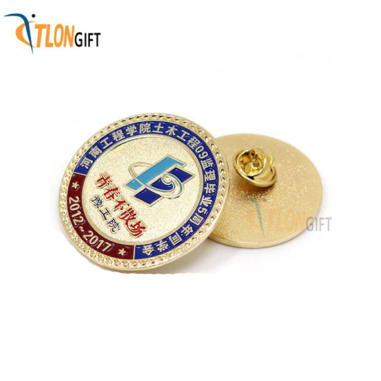 Fashion Design High Quality College Metal Lapel Pin of Decoration pictures & photos