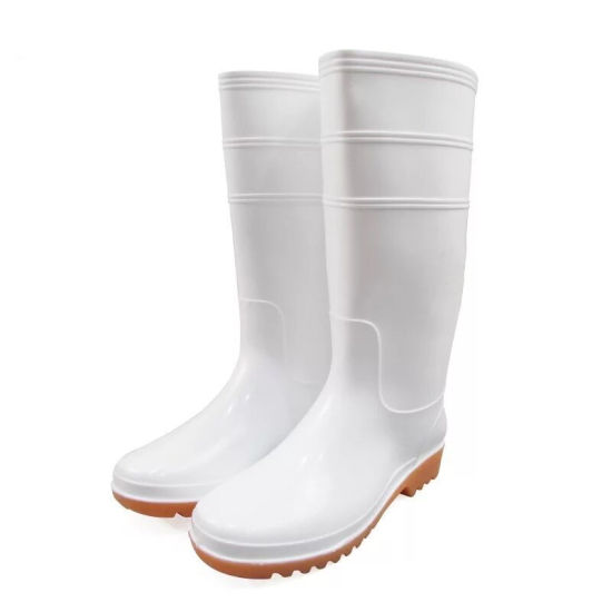 374284eb179 China Food Industry Rubber Boots White Gumboots in Guangzhou - China ...