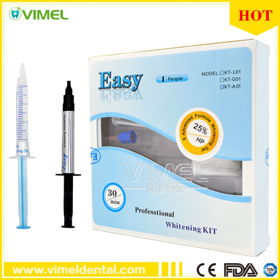 Dental Professtional Easy Teeth Whitening Kit pictures & photos