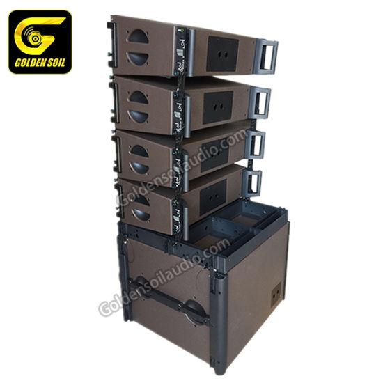 """Kara Dual 8"""" Line Array Tops and Sb28 Double 18"""" Bass 2 Way Line Array Speakers Active DSP Original B&C Speaker"""