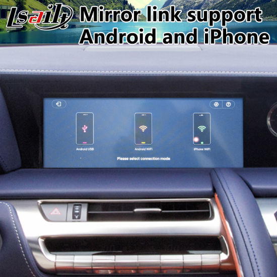 China Android 7 1 Car GPS Navigation for 2017-2019 Year Lexus LC