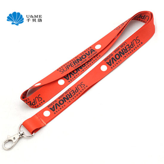 2019 Custom Promotional Gift Cheap Neck Strap ID Card Lanyard with Hook