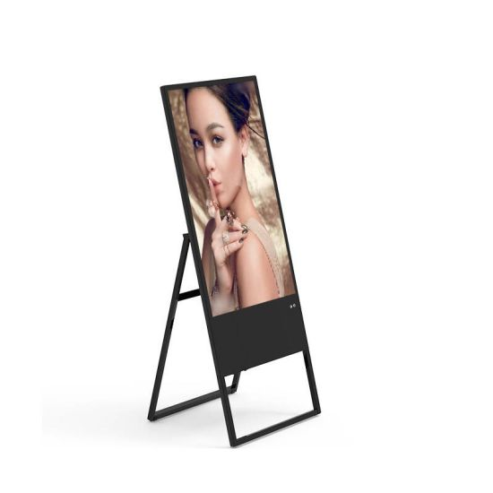 IR Touch 43 Inch Wall Mount Electronic Sign Boards Display Industrial  Screen Panel PC Kiosk LCD Digital Standee