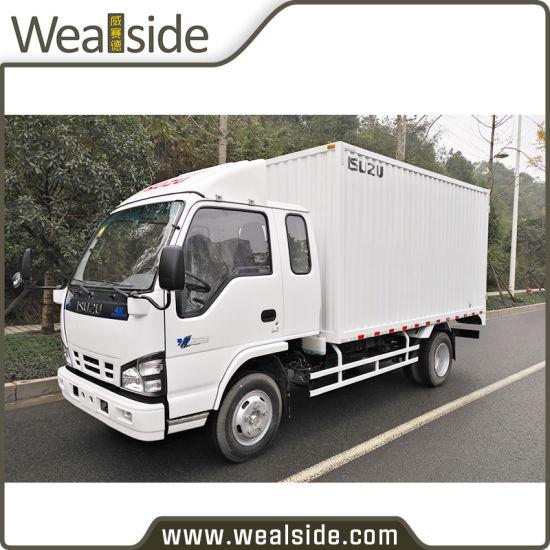 Isuzu 120HP 5t Diesel Engine 4X2 Light Van Truck