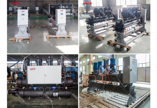 Industrial Scroll Water Cooled Chillers