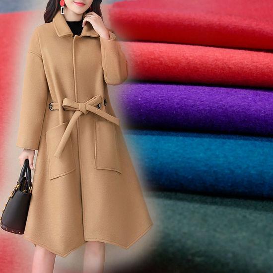 20%Nylon 80%Wool Fabric for Overcoat Suit