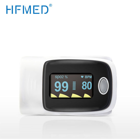 SpO2 Blood Oxygen Saturation Monitor OLED Display Digital Handheld Fingertip Pulse Oximeter pictures & photos