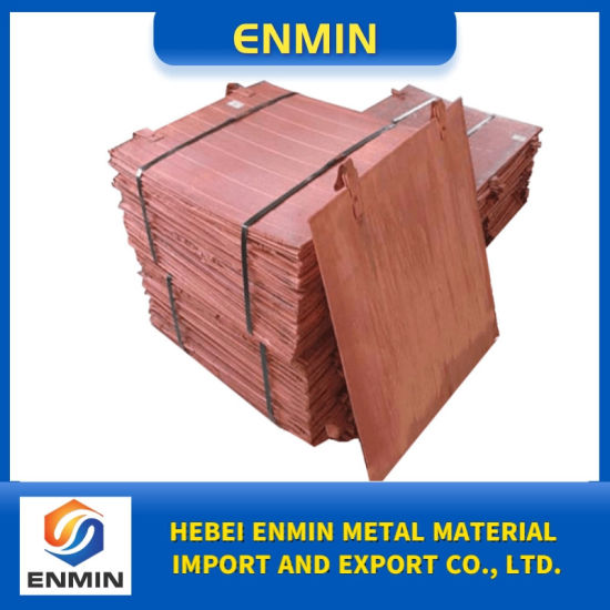Best Copper Sheet Plates/Electrolytic Copper with SGS Certification