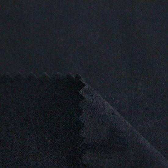 Customized Brushed Single Jersey 87%Polyester 13%Spandex Plain Warp Knitting Fabric for Garment/Sportswear/Yoga Wear/Shape Wear