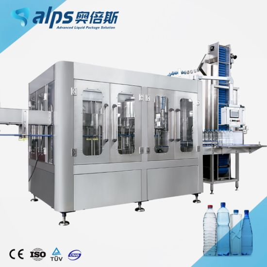 Small Scale Glass Bottle Water Filling Machine
