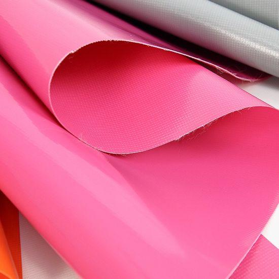 PVC Tarpaulin Clear Vinyl Coated Waterproof Polyester Fabric Canvas Black Tarpaulin