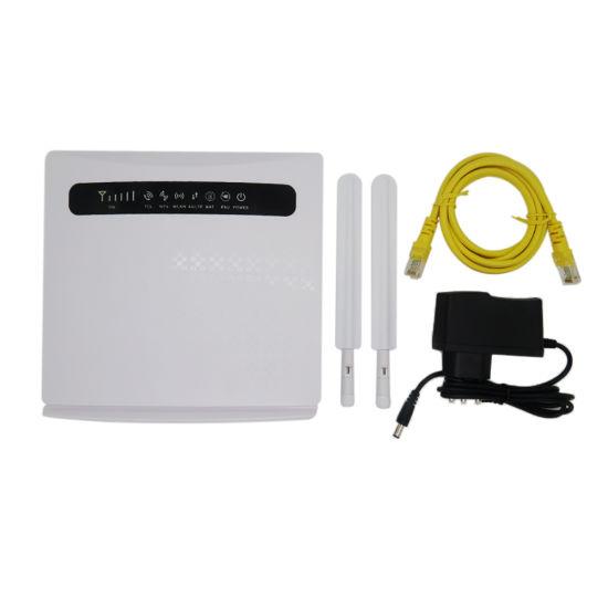 Wireless Hotspot 2g 3G 4G Lte 300MB 2.4GHz WiFi Router Dual External Antenna with SIM Card Slot