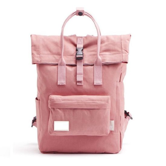 Blank Rucksacks Campus Eco-Friendly Teenage Girl School Bags Custom Cheap Plain Woman Pink Backpack