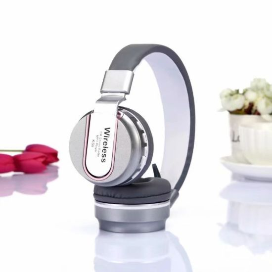 Wireless Bluetooth Headset FM SD Card Slot Radio 3.5mm Jack Foldable Headset with Built-in Microphone5222