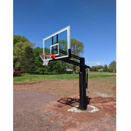 Ground Basketball Goal Posts, In Ground Basketball