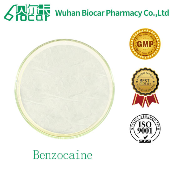 Fat Soluble Surface Anaesthetic Benzocaine CAS 51-05-8