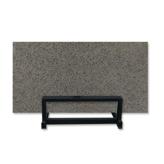 Pure Grey Fine Grain Engineered Quartz Slabs