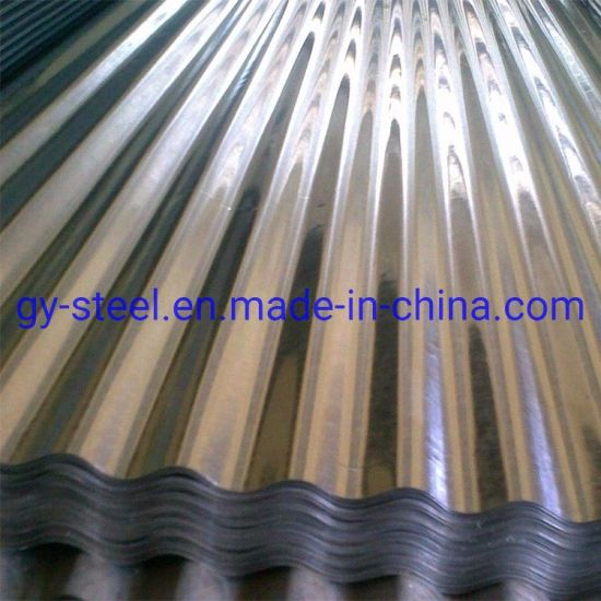 G550 Corrugated Galvanized Steel Roofing Price Zinc Coated Roof Sheet