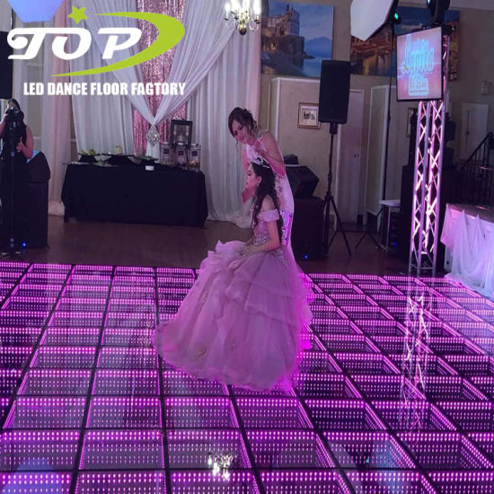 RGB Light Weight Xxx 3D Video LED Dance Floor for Disco