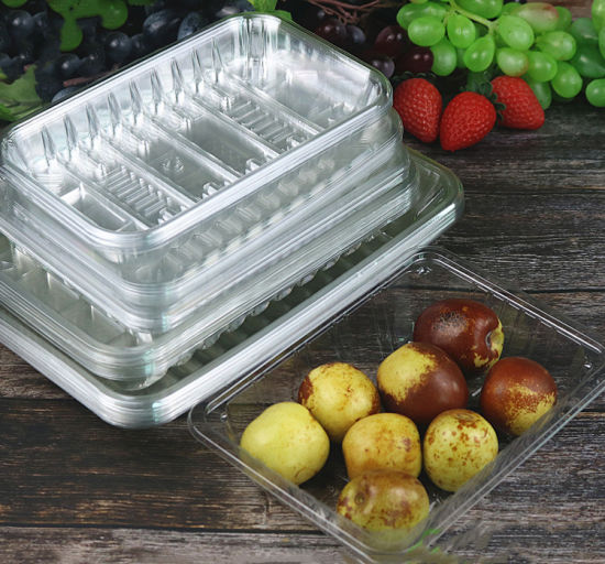 Disposable Supermarket Fresh Vegetable Tray
