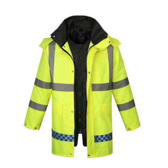 Reflective Winter Safety Clothing Waterproof Jacket