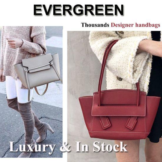 Genuine Real Leather Women Bag Ladies Trendy Tote Bags Top Quality Lady Sling Bag Fashion Designer Shoulder Bag Wholesale Market Luxury Brand Hand Bag Factory
