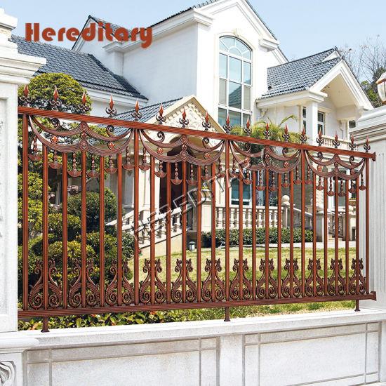 Modern Wall Fence Design Garden Decorative Privacy Aluminium Fence