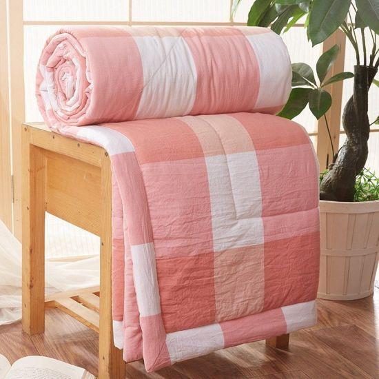 Quilted Mattress Protector Jacquard Comforter Set King Size Bedding Set