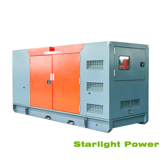 Silent Generator 100kw 125kVA Soundproof Diesel Generator with Deutz Engine