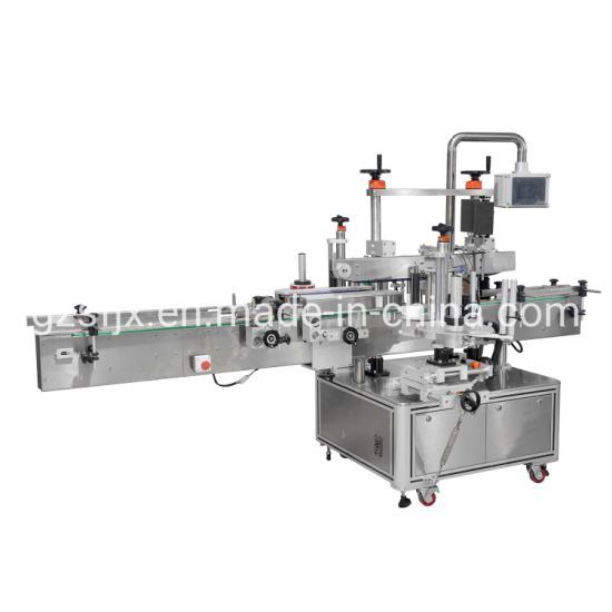 Factory Supply Tin Can Labelling Machine / Machine for Packaging Labels / Automatic Labeling Machine Aluminum Jar
