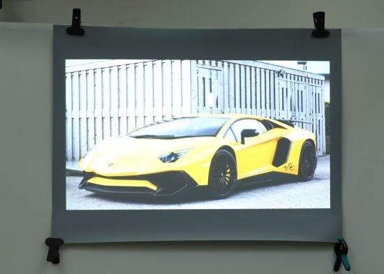 Transparent Hologrphic Rear Projection Film for Glass/Exhibition /Bank