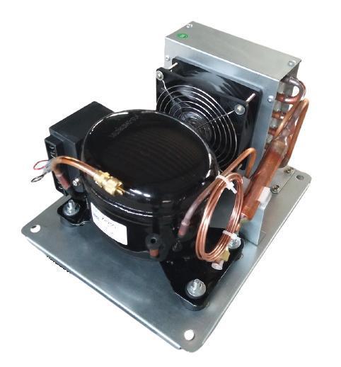 Medium High Back Pressure Small Mini Compressor Condensing Unit
