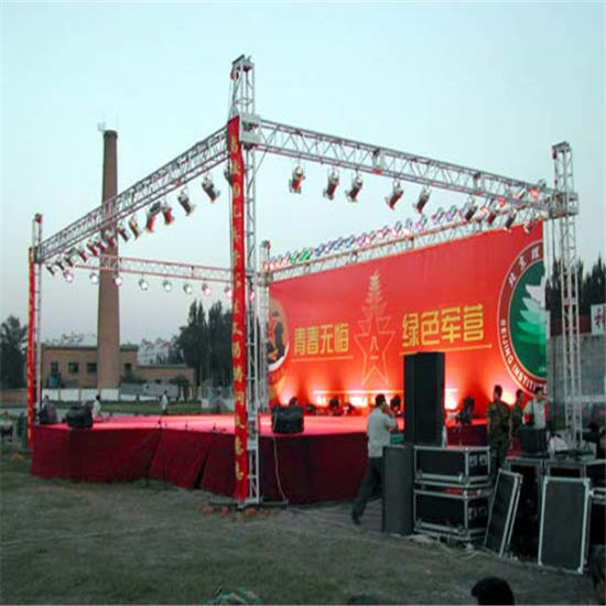 china outdoor lighting event stage aluminum dj box truss for sale