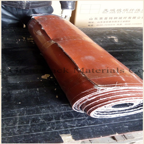 Good Quality Silicone Rubber Coated Fiberglass Fire Blanket pictures & photos