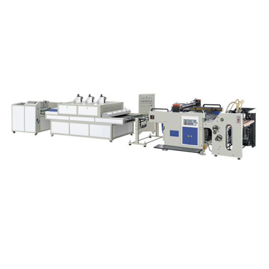 Fb-1020 Automatic UV Spot Screen Printing Production Line Machine with CE