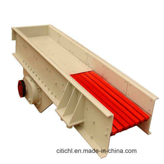 Vibrating Feeding Equipment Is Used for Jaw Crusher pictures & photos