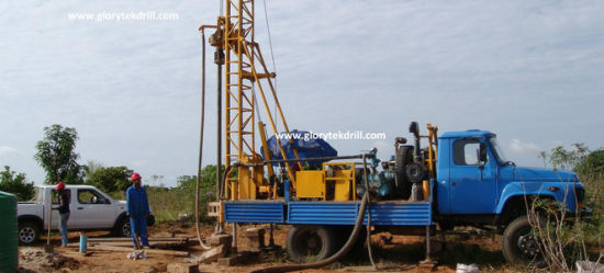 Truck Mounted Drill Rig 350 pictures & photos