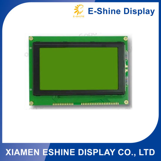 Stn 240128 240X128 LCD Module with Green Background
