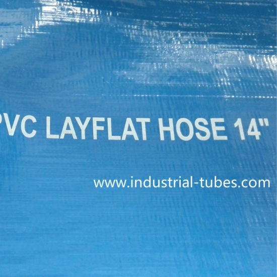 14 Inch PVC Layflat Hose pictures & photos
