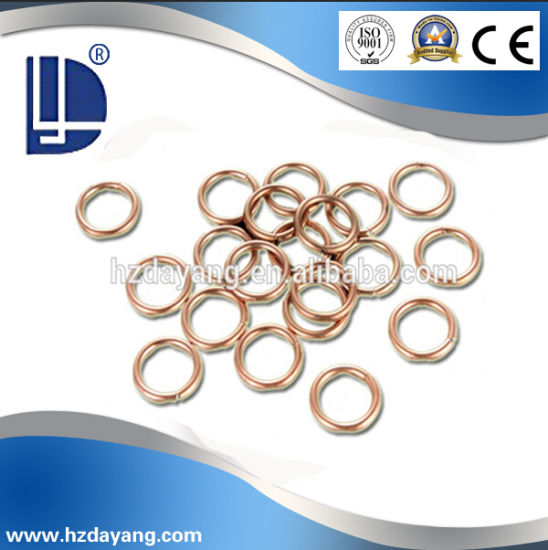 Quality Approved Phos-Copper Silver Alloys Brazing Flat Rod Welding Wire pictures & photos