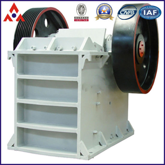 PE Hydraulic Double Toggle Jaw Crusher for Stone Crushing (PE-600*900) pictures & photos