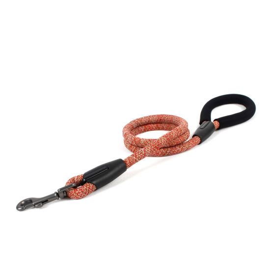 Extra Strong Braided Cord Dog Leash with Comfort Handle
